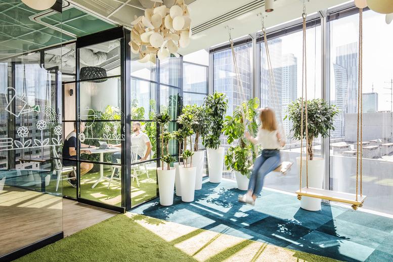 ワークプレイスと自然の調和、バイオフィリックオフィス5事例 Worker S Resort 世界のワーク